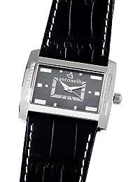 ANTONELLI 960006 - Reloj Unisex movimiento de cuarzo con correa de piel