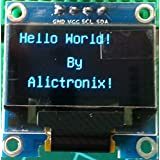 alictronix 0,96pulgadas I2C IIC Serial 128X 64OLED LCD pantalla LED módulo para Arduino