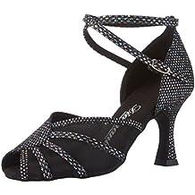 Diamant Damen Tanzschuhe 020-087-183, Zapatos de Tacón Mujer