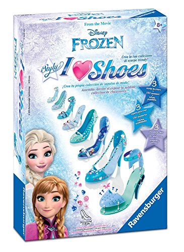 Ravensburger Italy 18521 - I Love Shoes Disney Frozen