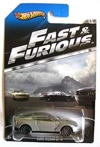 Hot Wheels Fast & Furious Nissan GT-R 2009 silber 1:64