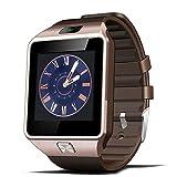 Bluetooth Smart Watch dz09, penvi Smartwatch GSM SIM Karte mit Kamera für Android iOS Gold