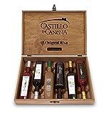 Castillo de Canena Private Collection. Aceite de oliva. Estuche de madera con 6 botellas de 500 ml.