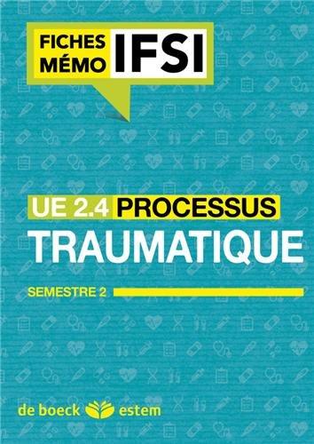 UE 2.4 - Processus traumatiques - Semestre 1