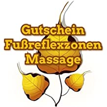 """Geschenkgutschein 60min """"Fußreflexzonenmassage"""" Nings.de Massage in Dresden"""
