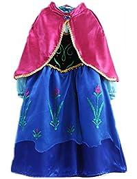 UUstar® Prinzessin Kostüm Karneval Verkleidung Party Cosplay Kleid