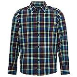 TOM TAILOR für Jungen Blusen, Shirts & Hemden Kariertes Hemd Pacific Diver Blue, 176