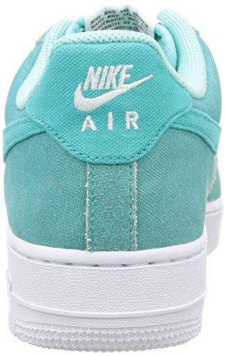 Nike - Air Force 1 - , homme, vert (lt retro/lt retro-white-light aqua), taille Vert (Light Retro/Light Retro-White-Light Aqua)