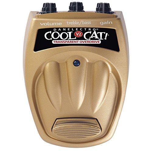 DANELECTRO COOL CAT CTO 2 TRANSPARENT OVERDRIVE V2   PEDAL DE EFECTOS