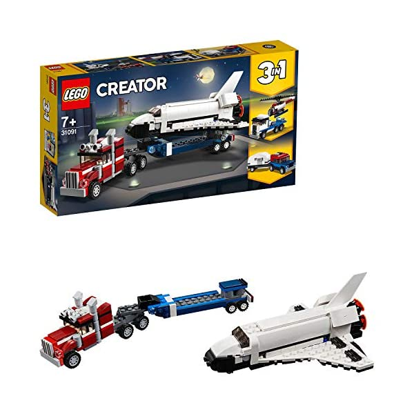 LEGO Creator - Trasportatore di shuttle, 31091 1 spesavip