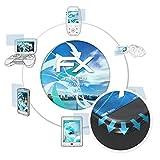 atFolix Schutzfolie passend für Oppo R7 Folie, ultraklare & Flexible FX Bildschirmschutzfolie (3X)