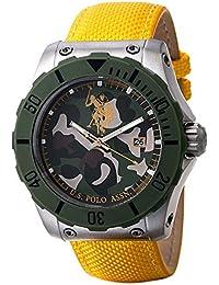 Reloj de pulsera para hombre U.S. Polo Assn. Voyager usp4233yw