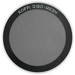 Filtro de metal para AeroPress. Disco de malla de acero inoxidable, reutilizable y ultrafino - Para un mejor sabor en tu café, KOFFI ® DISC