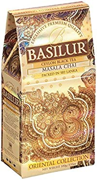 Basilur Pure Black Tea with Spices 'Masala Chai' Oriental Collection loose 100g