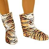 dressforfun Kostüm Tiger für Sie und Ihn | Aus weichem Fellimitat | Ärmellos und vorne mit praktischem Reißverschluss | inkl. warmen Handschuhen, Beinstulpen und Ganzkörperstrumpfhose (M | Nr. 300863) Vergleich
