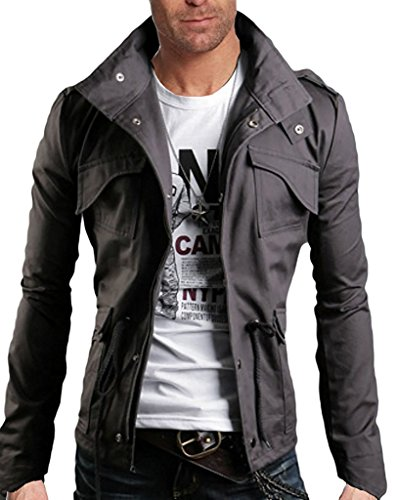 Mineton Uomo Moda Giacche Capispalla Cappotti Slim Bombardiere Jackets Cardigan