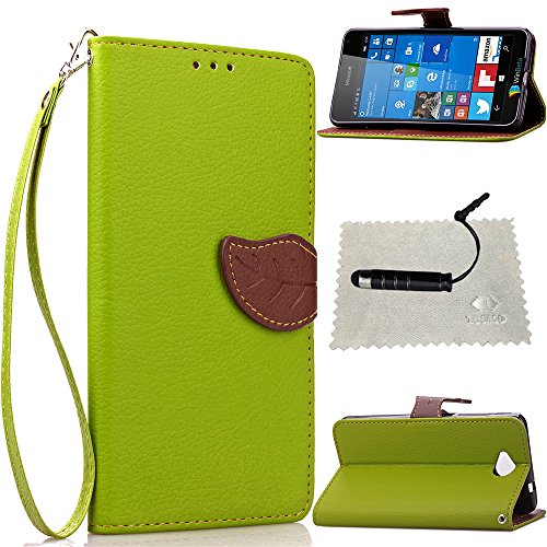 microsoft-lumia-650-case-greenmicrosoft-lumia-650-wallet-casemicrosoft-lumia-650-flip-covertocaso-le