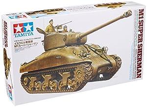 Tamiya - Maqueta Para Montar Tanque Super Sherman M1, Ejercito Israeli Escala 1/35 (Tamiya-35322)