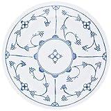 Kahla Blau Saks Suppenteller, Suppen Tasse, Schale, Porzellan, Blau Saks, 22 cm, 453406A75019H