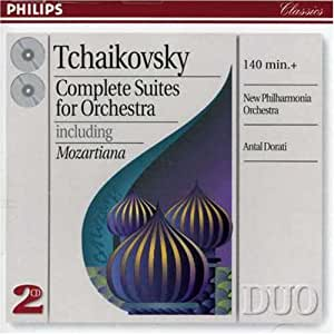 Tchaïkovski : Complete Suites for Orchestra including Mozartiana