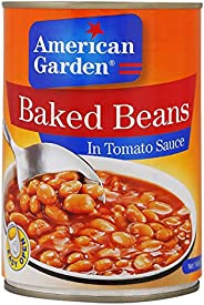 American Garden Baked Beans in Tomato Sauce - 420 gm