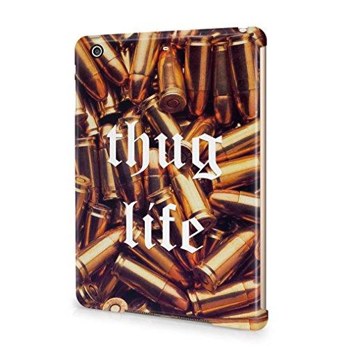 Maceste Thug Life Golden Bullets Kompatibel mit Apple iPad Mini 2 / iPad Mini 3 SnapOn Hard Plastic Tablet Protective Fall Handyhülle Case Cover (Ipad Mini Bandana Case)