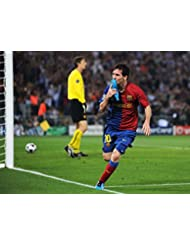Lionel Messi Football (32x24 inch, 80x60 cm) Silk Poster Seda Cartel PJ12-2F3A
