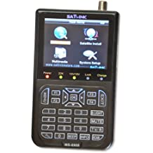 Medidor de SATLINK WS-6908SE medidor para DVB-S