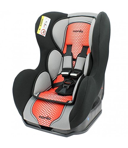 Nania Cosmo Group 0+/1 - Asiento infantil para coche, color rojo