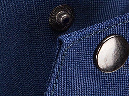 CLOTHES- Versione coreana della spalla trasversale trasversale della tela di canapa Sacchetto di cassa delluomo del sacchetto di viaggio di svago libero di modo ( Colore : Nero ) Blu Descuento Del Paquete De Cuenta Regresiva Salida 2018 Unisex Visitar Nueva Venta Online nFpRgCT