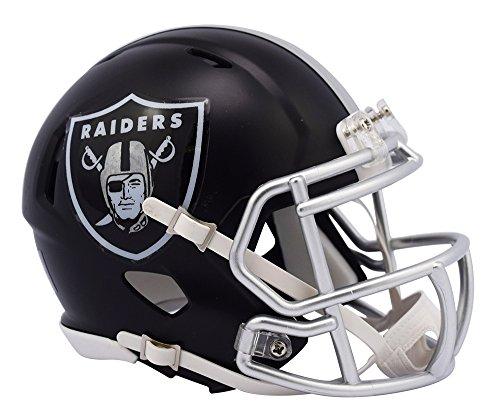 NFL Oakland Raiders Alternate Blaze Speed Mini Helm
