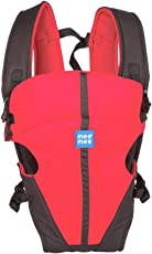 Mee Mee Lightweight Breathable Baby Carrier, Red