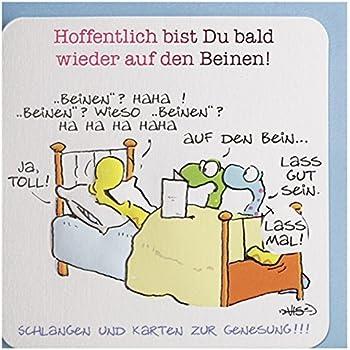 genesungskarte witzig bald wieder auf den beinen b robedarf schreibwaren. Black Bedroom Furniture Sets. Home Design Ideas
