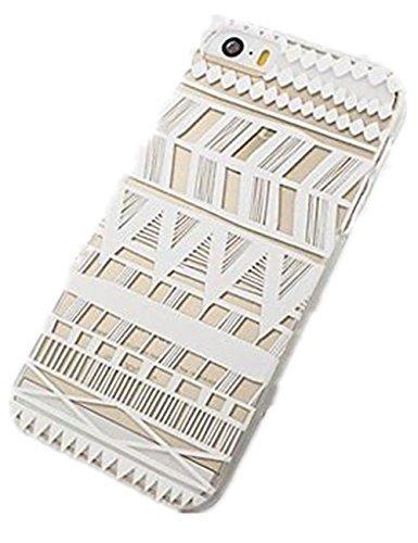acefast INC Kunststoff Schutzhülle für iPhone 55S 5C 66Plus Henna itzli Maya-Aztec Tribal (für iPhone 5C)