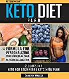 KETOGENIC DIET: KETO DIET PLAN - Keto For Beginners guide & your 30 days Keto-adaptation Meal Plan recipe Cookbook