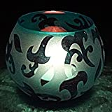 Mosaic Glass Decorative Beautiful Small Candle Holders