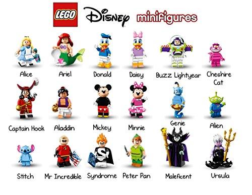 Preisvergleich Produktbild #71012 Lego® Minifiguren #Die Die Disney Serie komplett alle 18 Figuren Sonderserie