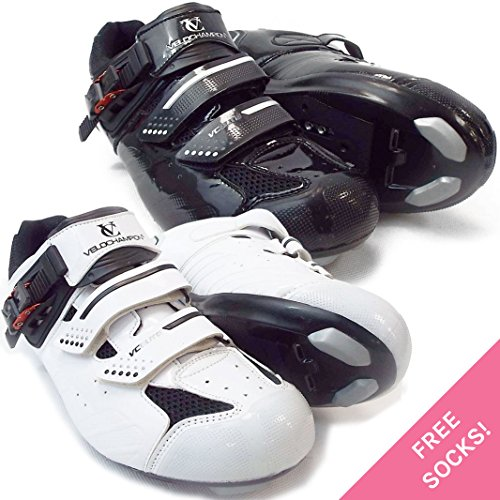velochampion-zapatillas-de-ciclismo-elite-road-par-cycling-road-shoes-white-black-46