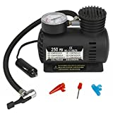 Car Air Compressor Pump by MERCEBULL - Black