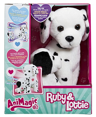 vivid-imaginations-ruby-and-lottie-dalmation-dog-and-puppy-soft-toy-multi-colour