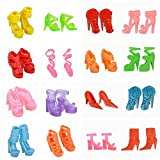 E-TING 10 Pairs/Lot Fashion Mini Shoes f...