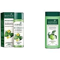 Biotique Bio Cucumber Pore Tightening Toner, 120ml & Biotique Bio Green Apple Fresh Daily Purifying Shampoo and…