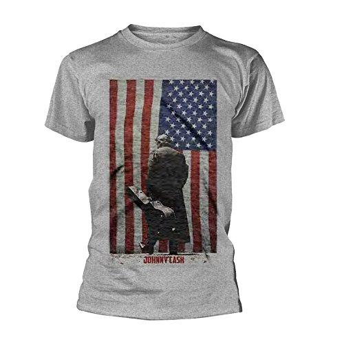 JOHNNY CASH AMERICAN FLAG TS (Flag Kostenlos Mens)