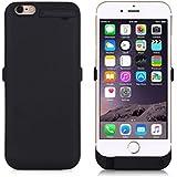 """Mondpalast ® Noir Coque batterie externe Etui housse rechargeable 8200mah avec support pour Apple iPhone 6 plus , IPHONE plus 5.5"""""""