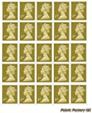 25 x 1st Class Standard Self Adhesive Stamp Sheet Royal Mail Post Office