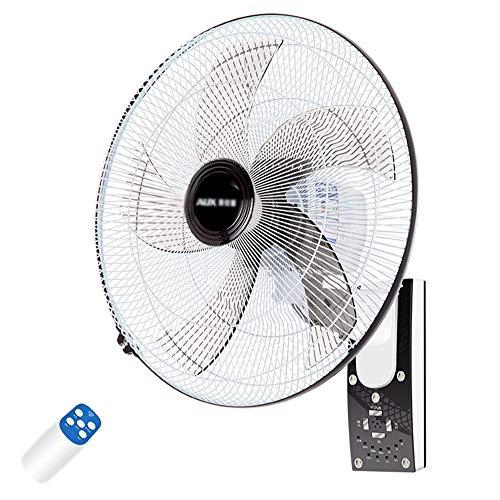 Wandventilator Oszillation Wand-Ventilator 50cm Mit 90 ° Oszillierend 3 Geschwindigkeit 3 Windmodus Fernbedienung Und Timer Leiser / 60w (Fernbedienung Wand-ventilator)