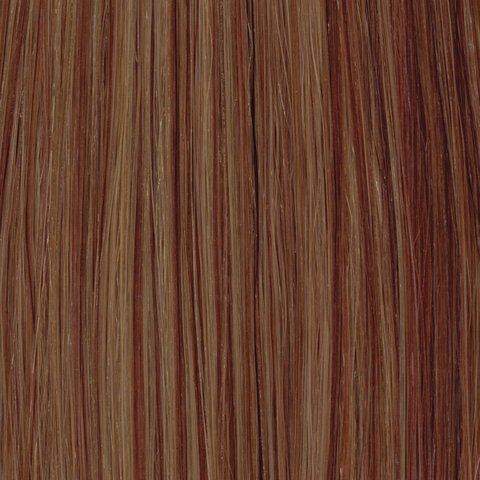 American Dream Original grade 100% capelli umani 45,7cm Silky straight Weft colore 70R/30-Ginger nut/Topazio