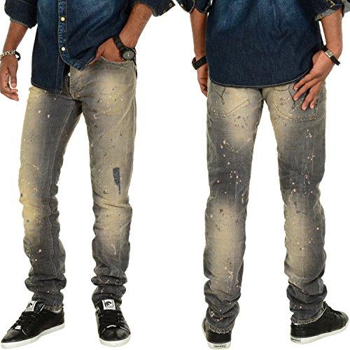 Patria Mardini Sahib Slim Fit Jeans Grau Grau