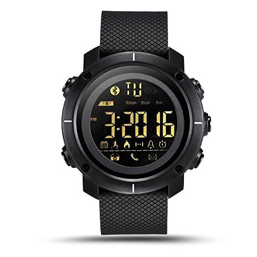 LEMFO LF19 Digital Mens Smart Watch IP68 Waterproof 5ATM Call SMS Notification Sport Smartwatch with LED Backlight