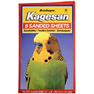 Northern Parrots Kagesan Sanded Sheets 35x21cm (14x8) - 8 Pack